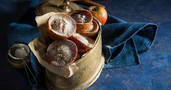 Apfel-Zimtmuffins