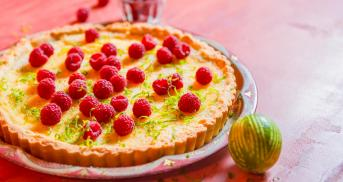 Squeezy Lime Tarte