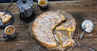 Ananas-Baiser-Kuchen