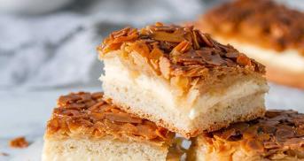 Bienenstich wie vom Bäcker ganz einfach