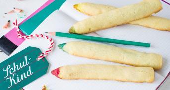 Die leckersten Buntstifte seit es Kekse gibt