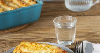 Cremige Cannelloni mit Ricotta und Spinat