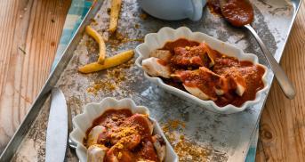 Die beste Currywurstsoße fast ohne Zucker