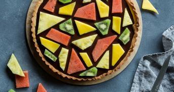Fruchtiger Mosaik Kuchen - so schön ist nur dieser