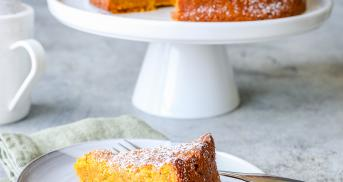 Der saftigste vegane Karottenkuchen überhaupt