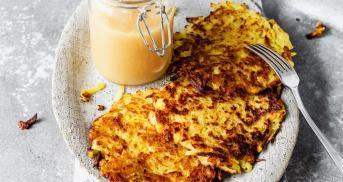 Knusprigste Kartoffelpuffer - ganz vegan ohne Ei