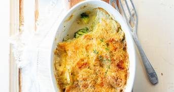Bester Kartoffel-Brokkoli-Auflauf ohne Vorkochen