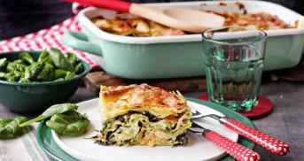 Lachslasagne - Fisch liebt Pasta