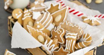 Lebkuchen wie vom Weihnachtsmarkt
