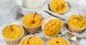 Low Carb Bananen-Karotten-Muffins