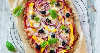 Low Carb Pizza mit Thunfisch