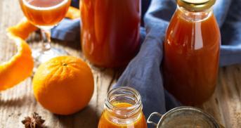 Mandarinenlikör ganz einfach selber machen