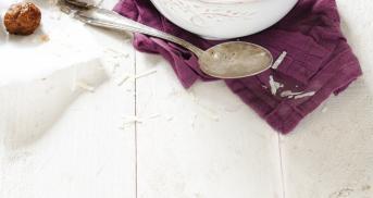 Nudelsuppe mit Rinderhackbällchen im Cookit
