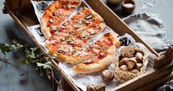 Pizza Funghi noch besser als beim Italiener