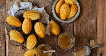 Caramel-Madeleines