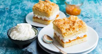 Apricot Bee Sting Cake