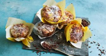Ananas-Schokoladen-Muffins