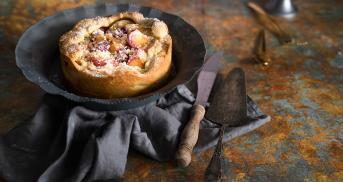 Pfirsich-Knusper-Kuchen