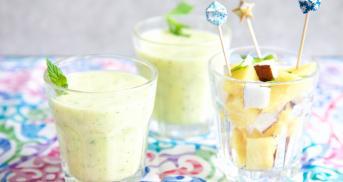 Ananas-Smoothie à la Piña Colada