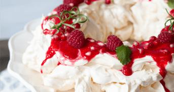 Christmas Pavlova | Weihnachtsbäckerei aus aller Welt