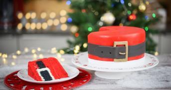 Weihnachtsmanntorte à la Surprise Inside