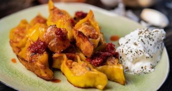 Dizme Manti: Türkische Ravioli aus dem Ofen