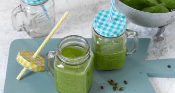 Grüner Smoothie - Vitamine zum Schlürfen