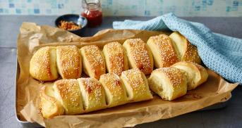 Fluffige Milchbrötchen wie vom Bäcker