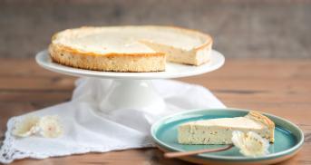 Protein-Käsekuchen, der wie Käsekuchen schmeckt