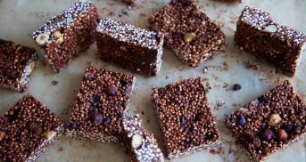 Quinoa Riegel - Superfood gegen dein Mittagstief