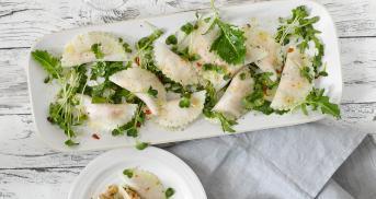 Rohe Kohlrabi-Ravioli - Low Carb Pasta ohne kochen