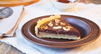 Schokoladen Nuss Tarte