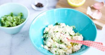 Tzatziki vegan zubereiten - so einfach geht's