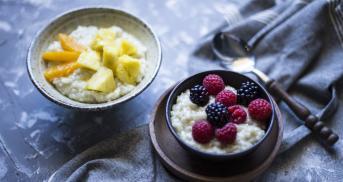 Veganer Kokosmilchreis
