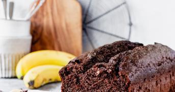 Bester Schoko-Bananen-Kuchen ohne Zucker