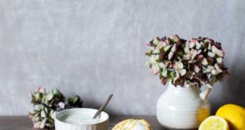 Vegane Zitronenmuffins so richtig schön saftig