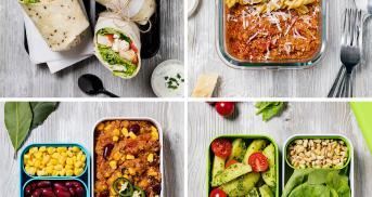 Dein Meal Prep Wochenplan mit 5 Rezepten