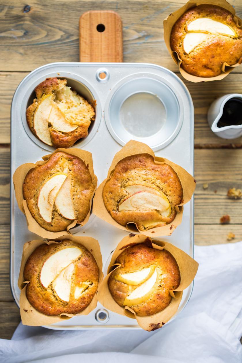 Apfelmuffins Ohne Zucker Rezepte Von Simply Yummy