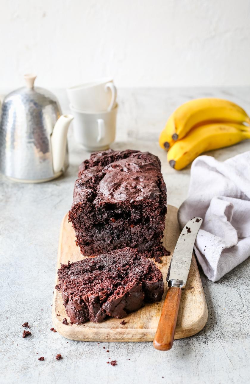Schoko-Bananenkuchen