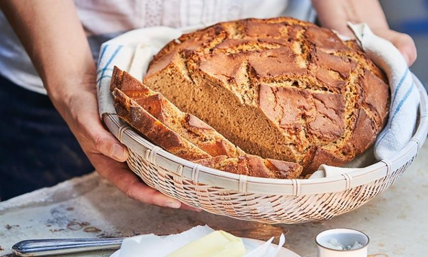 Roggen-Sauerteigbrot im Cookit