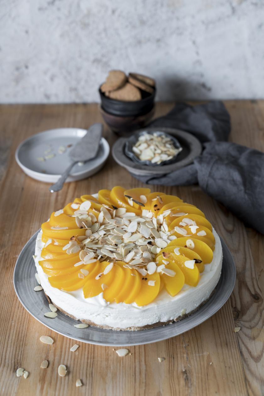Pfirsich Buttermilch Kuchen Ohne Backen Simply Yummy