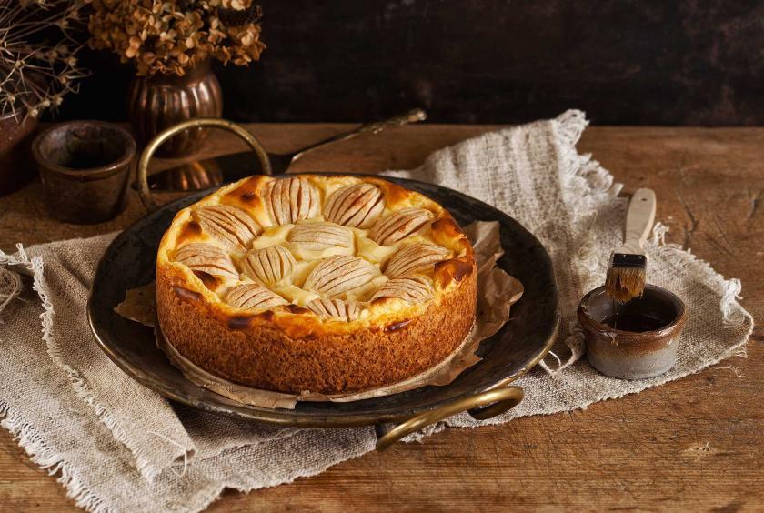 Apfelkuchen Mit Pudding Rezepte Von Simply Yummy