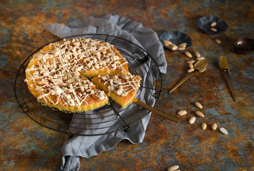 Mandelkuchen Mit Weisser Schokolade Simply Yummy