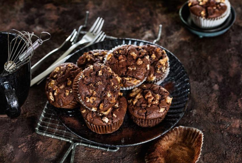 Apfel Walnuss Muffins Mit Buttermilch Simply Yummy
