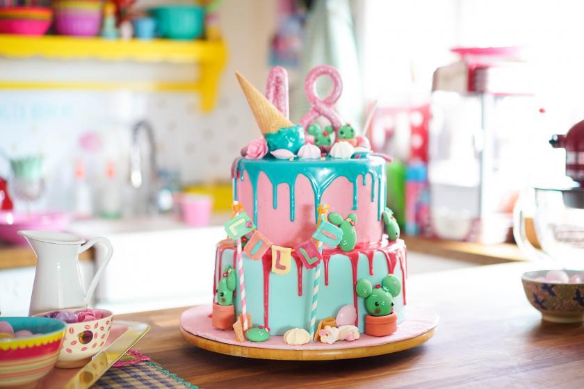 Geburtstagstorte Zum 18 Candy Drip Cake Simply Yummy