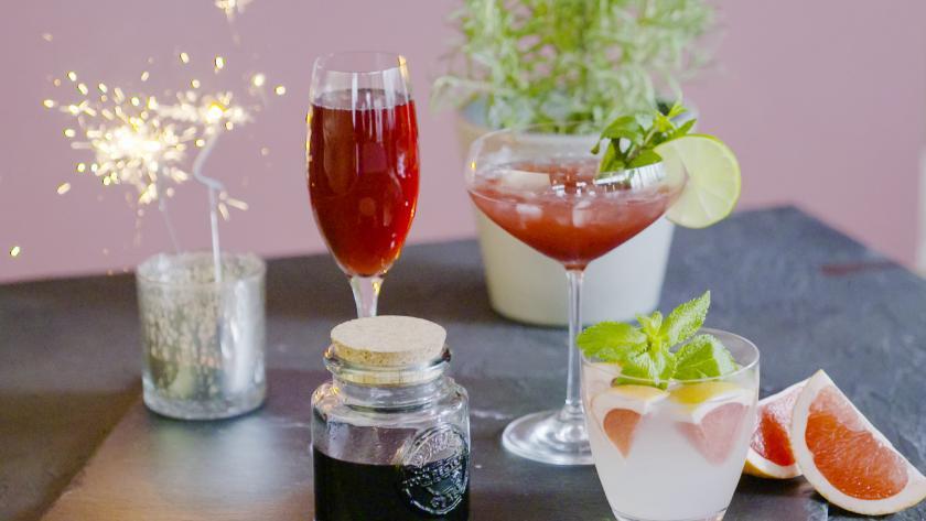 Silvester Cocktails Mit Und Ohne Alkohol Simply Yummy