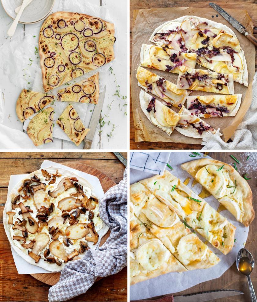 Flammkuchen Vegetarisch 5 Rezepte Ganz Knusprig