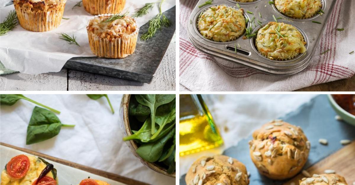 Herzhafte Muffins Unsere 10 Besten Rezepte Auch Low Carb