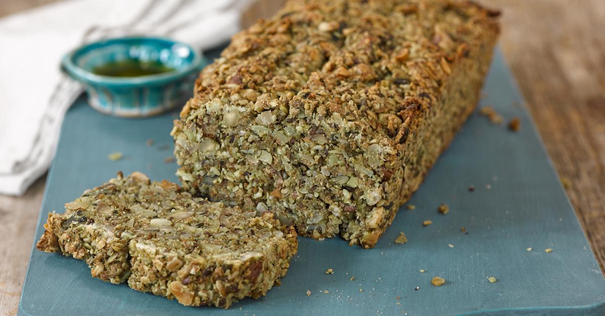 Brot ohne Mehl – gesunder Low Carb Sattmacher