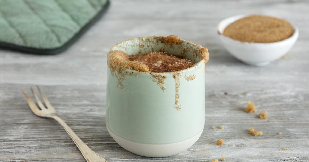 Tassenkuchen Ohne Ei Vegan In Nur 2 Minuten Fertig